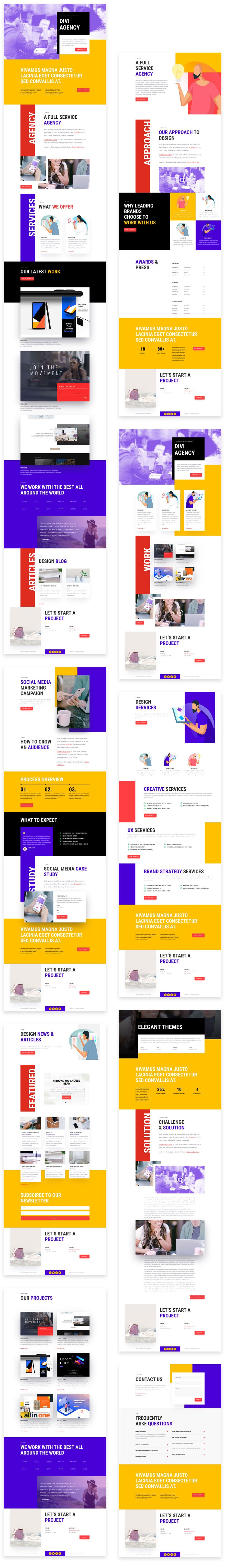 Advertising Agency Layout Pack