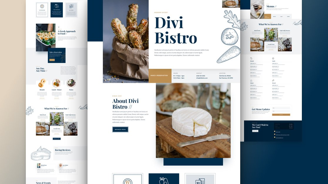Get a FREE Bistro Layout Pack