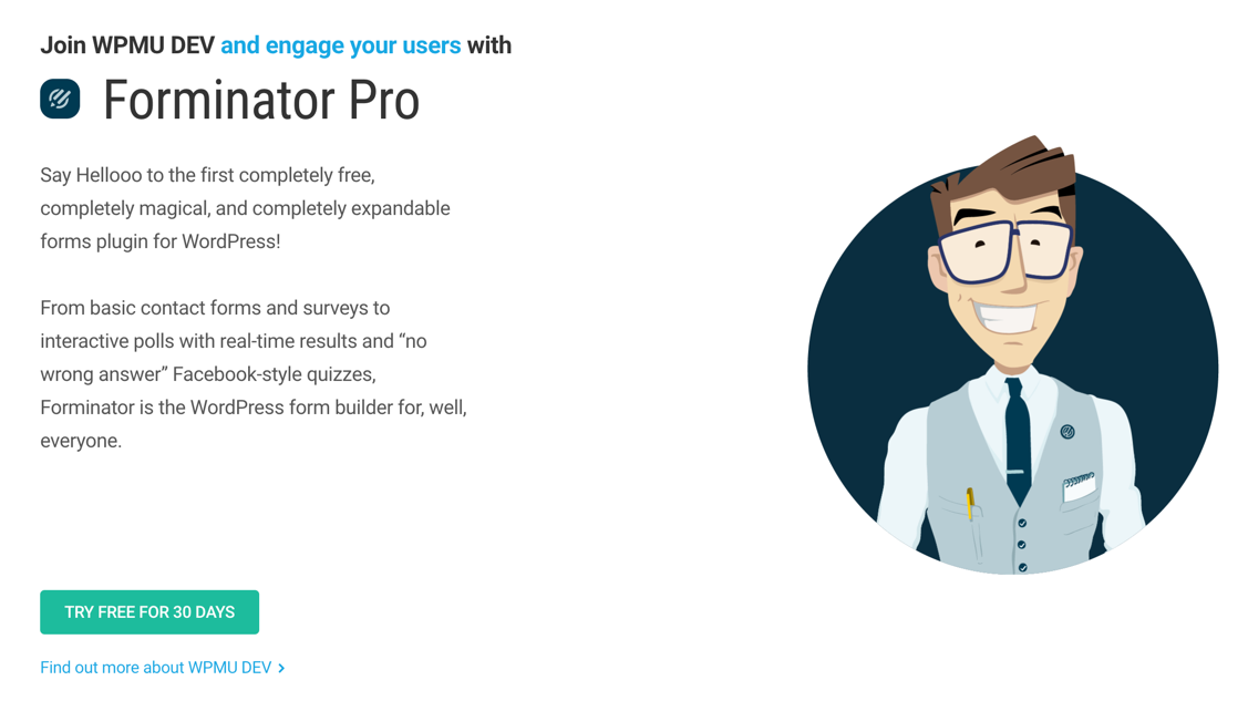 forminator pro wordpress survey plugin