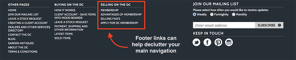 wordpress-footer-example