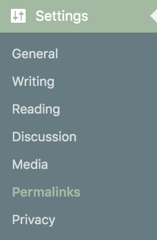 wordpress-settings-menu
