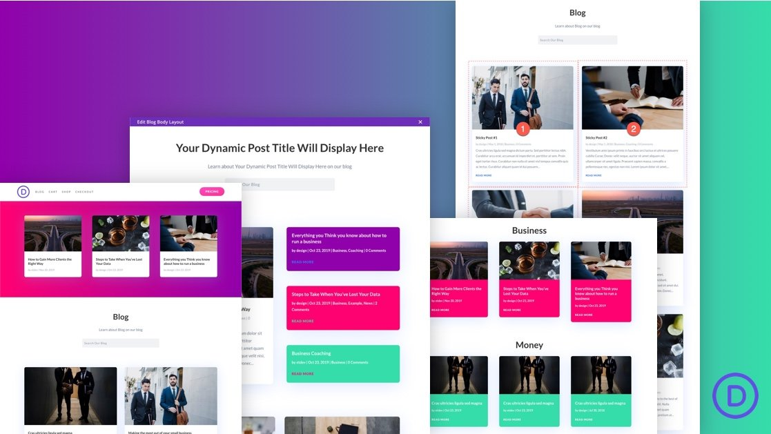 5 Tips for Organizing Blog Page Content in Divi