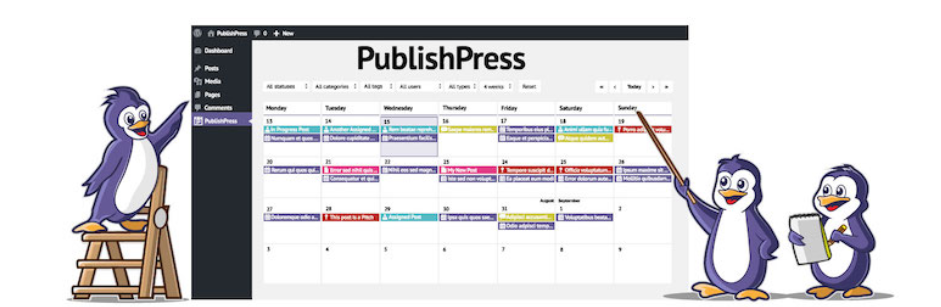 The PublishPress plugin.