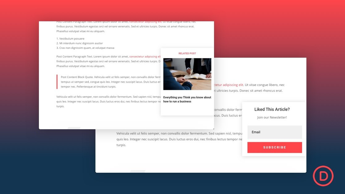 How to Add a Scroll Triggered Popup to Your Blog Posts in Divi
