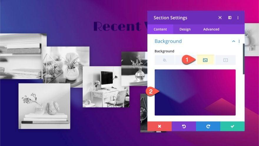 Divi Interactive Image Collage