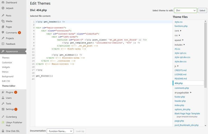 wordpress code mirror theme editor