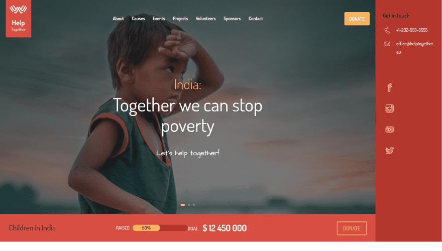 Nonprofit Layout