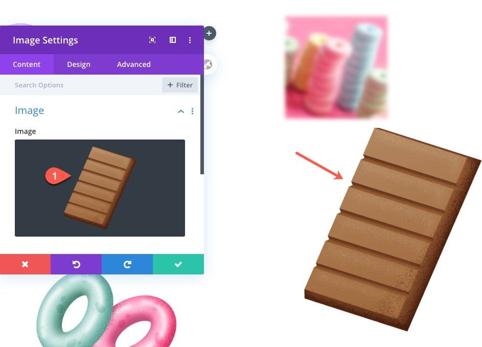 Float Elements in a Divi Section