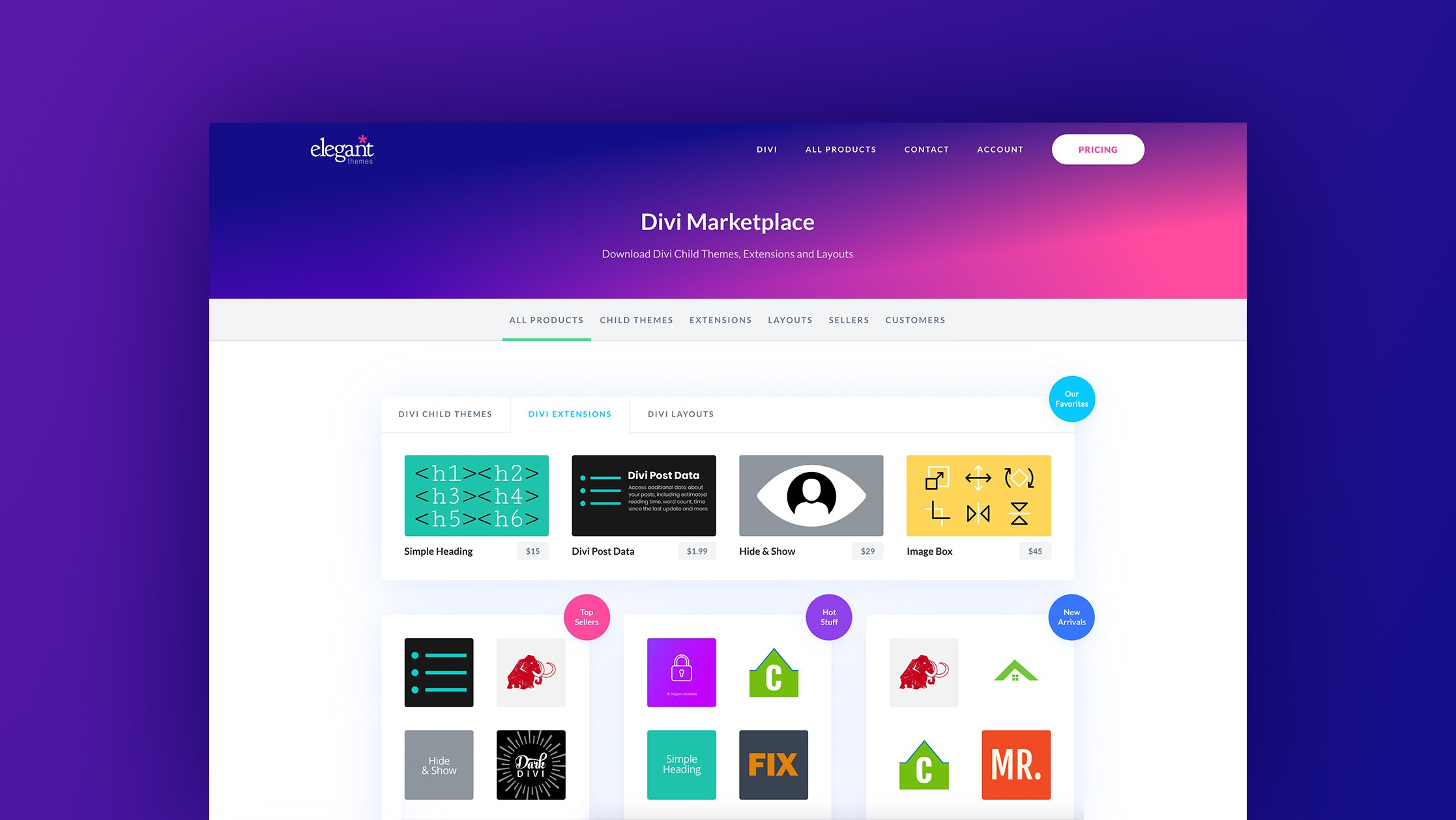 Become A Creator On The Divi Marketplace