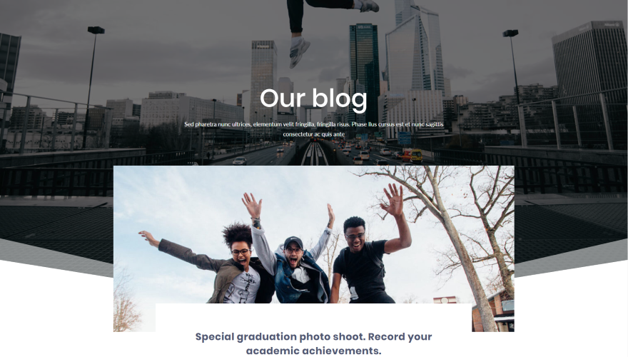 Divi Blog Page Layout