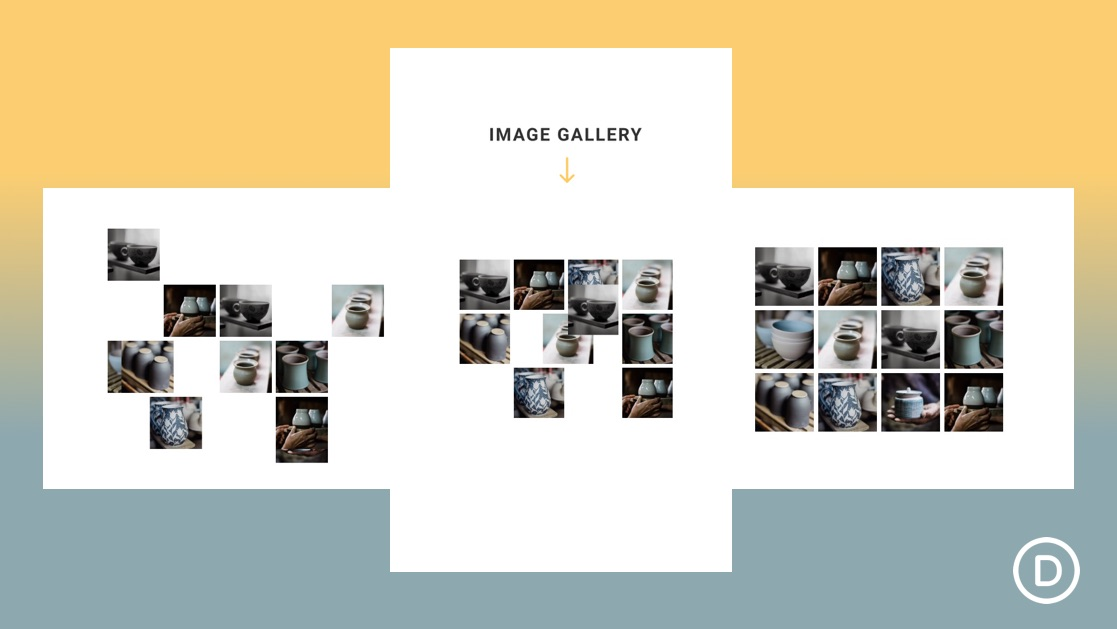 How to Reveal Your Image Gallery with a Sliding Puzzle Scroll Effect in Divi