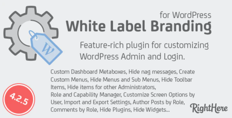 white label WordPress