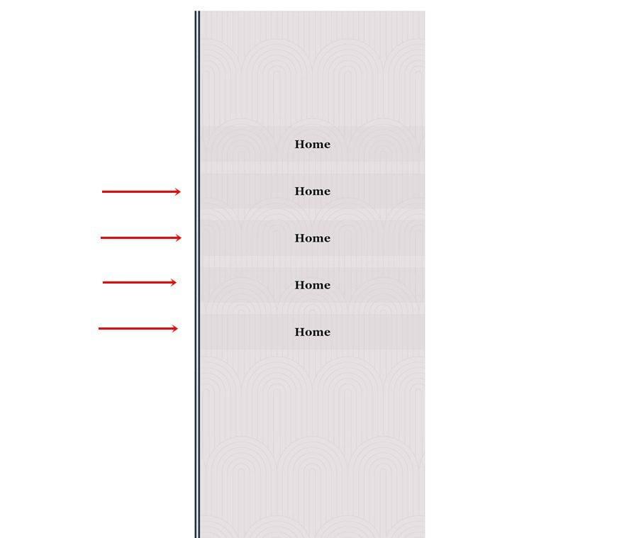 slide-in menu