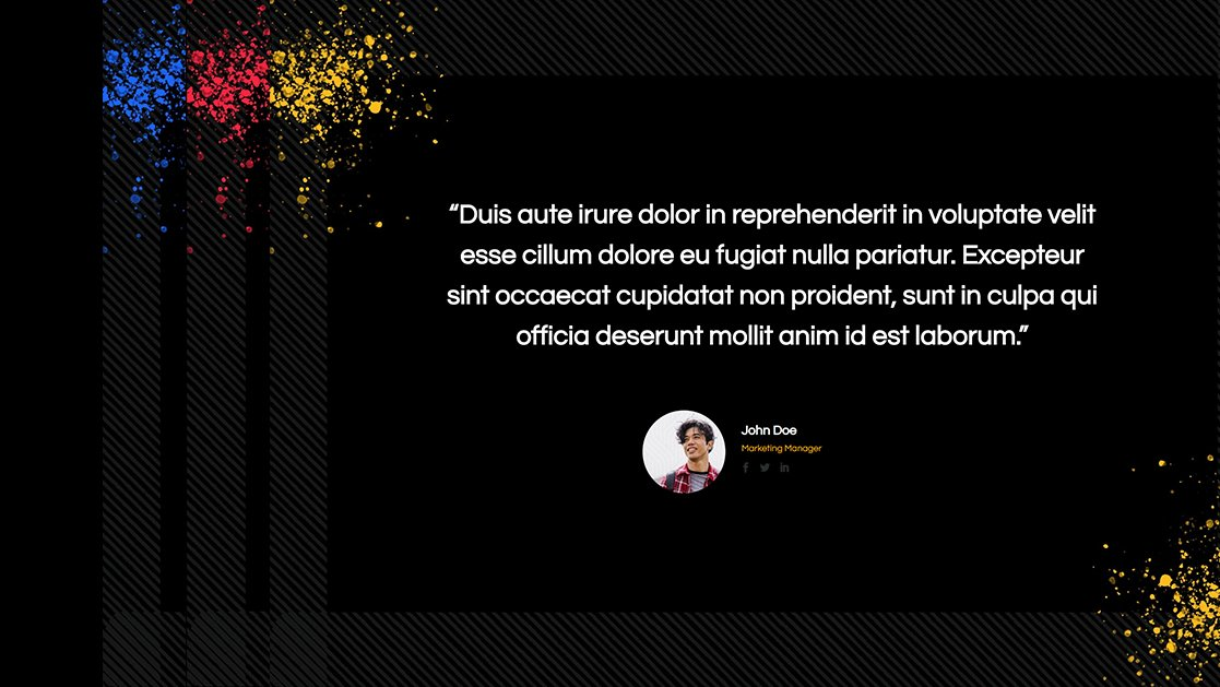 Download a FREE Motion Testimonial Layout for Divi