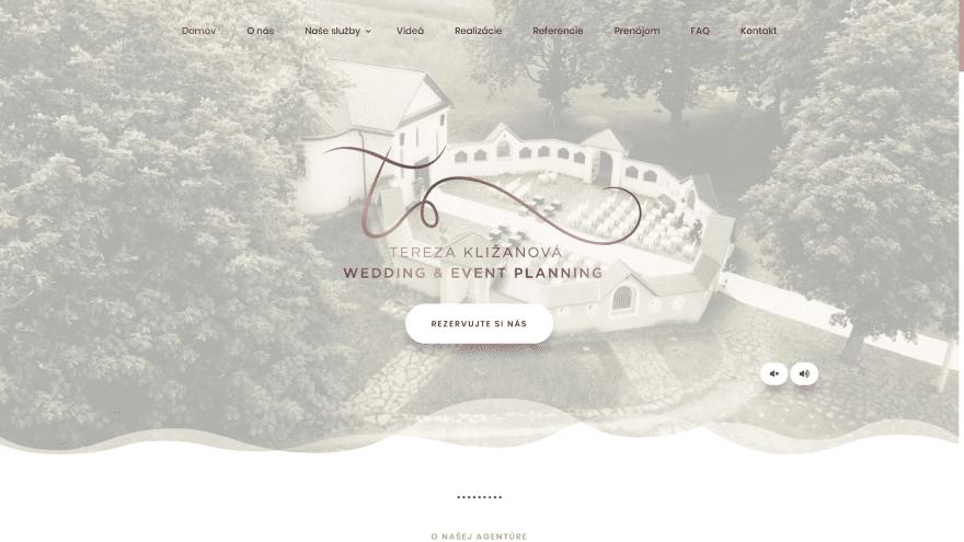 Svadobná agentúra Terezy Kližanovej