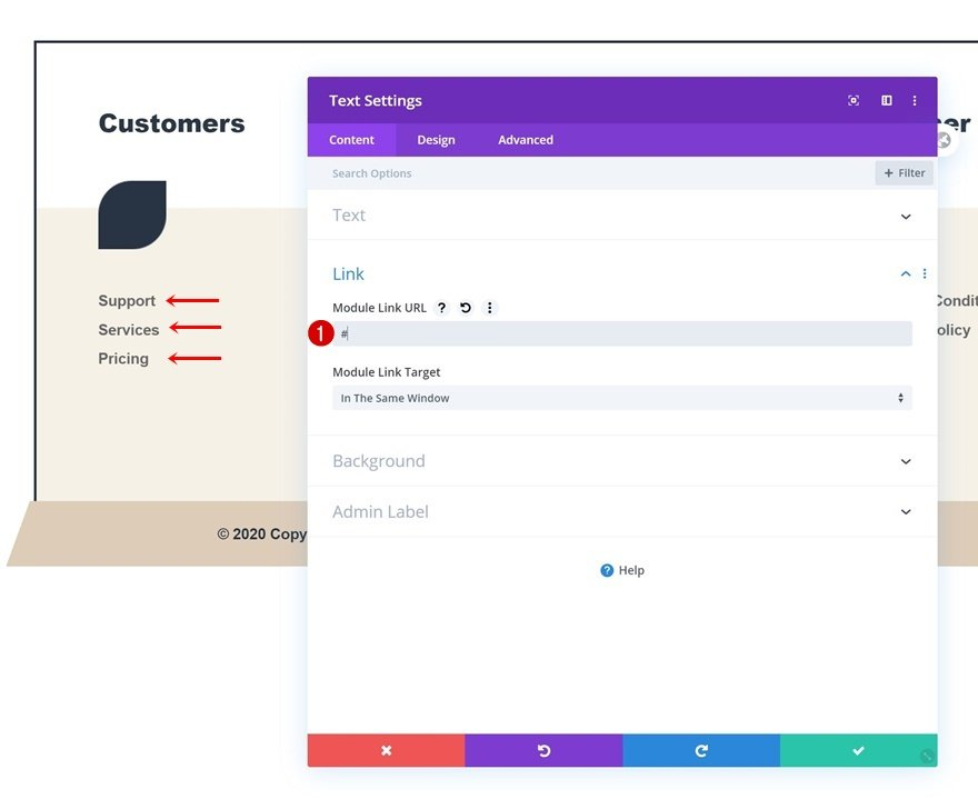 Header & Footer Template for The Financial Advisor Layout Pack