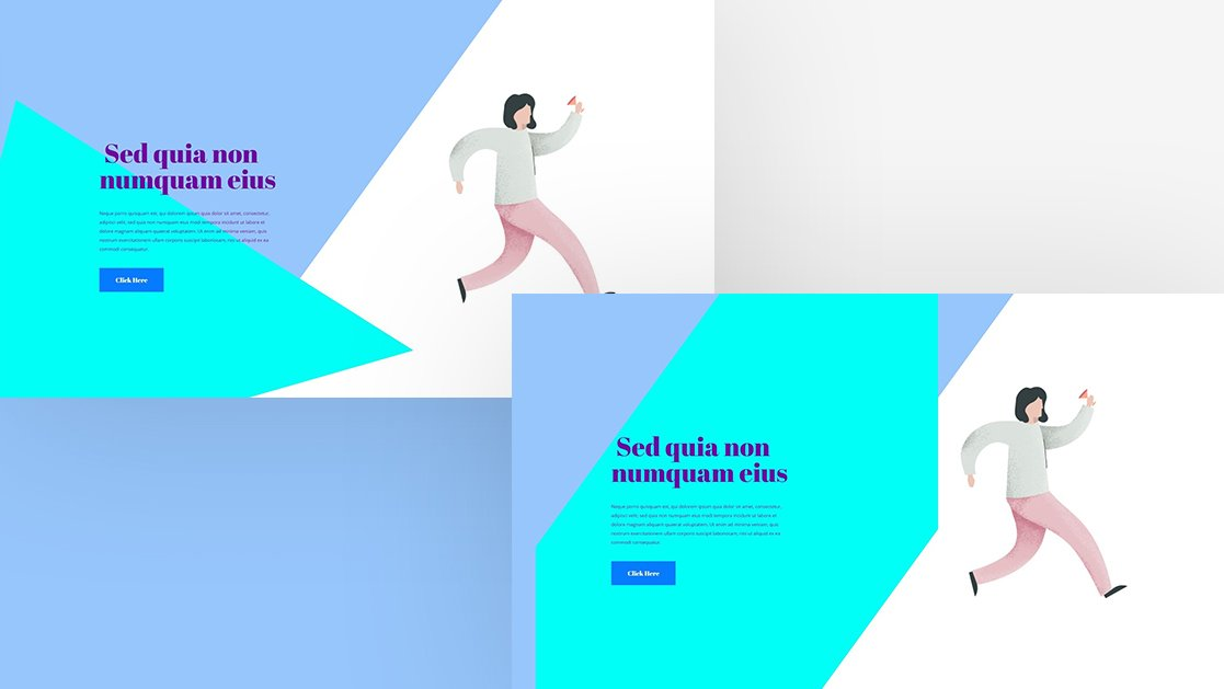 How to Use Transformed Motion Shapes as Backgrounds with Divi