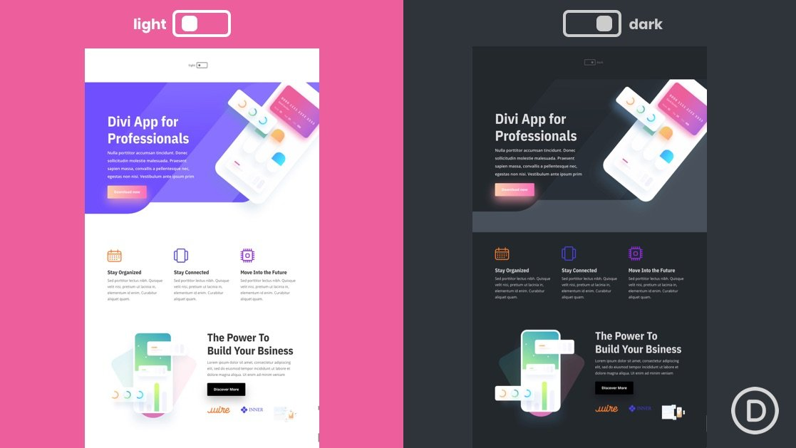 How to Implement a Dark Mode Toggle in Your Divi Site