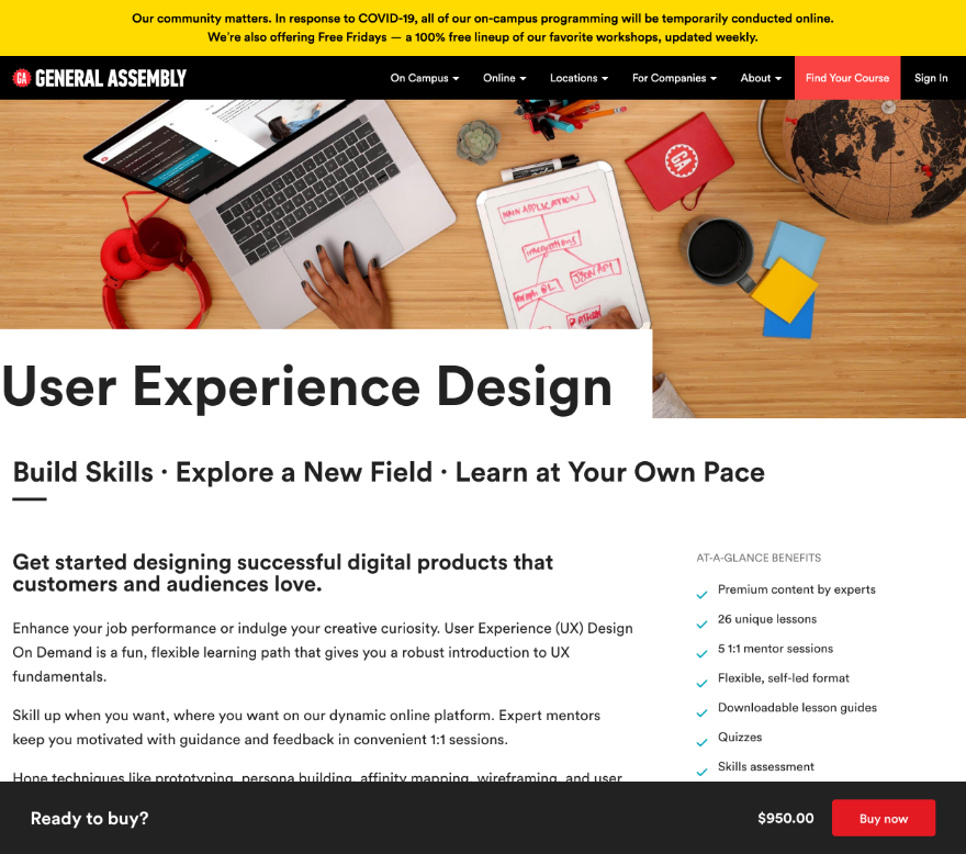 The 11 Best Ui Ux Design Courses And Bootcamps Available Online In 2020 Elegant Themes Blog