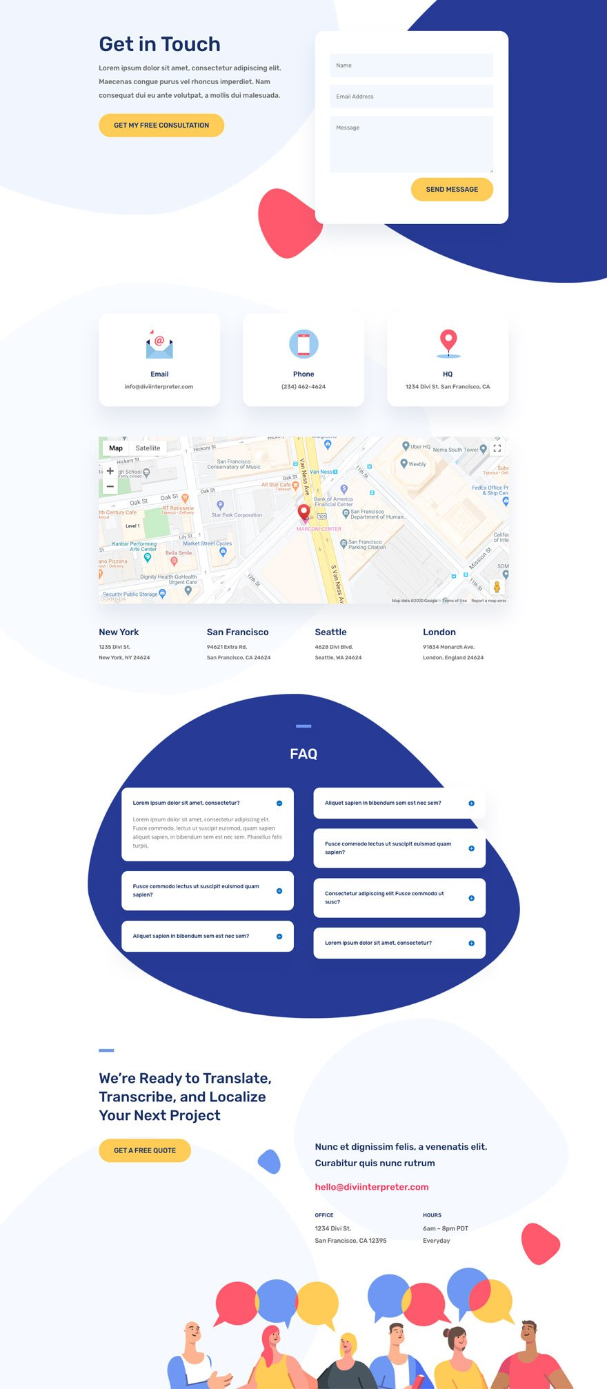 divi interpreter layout pack