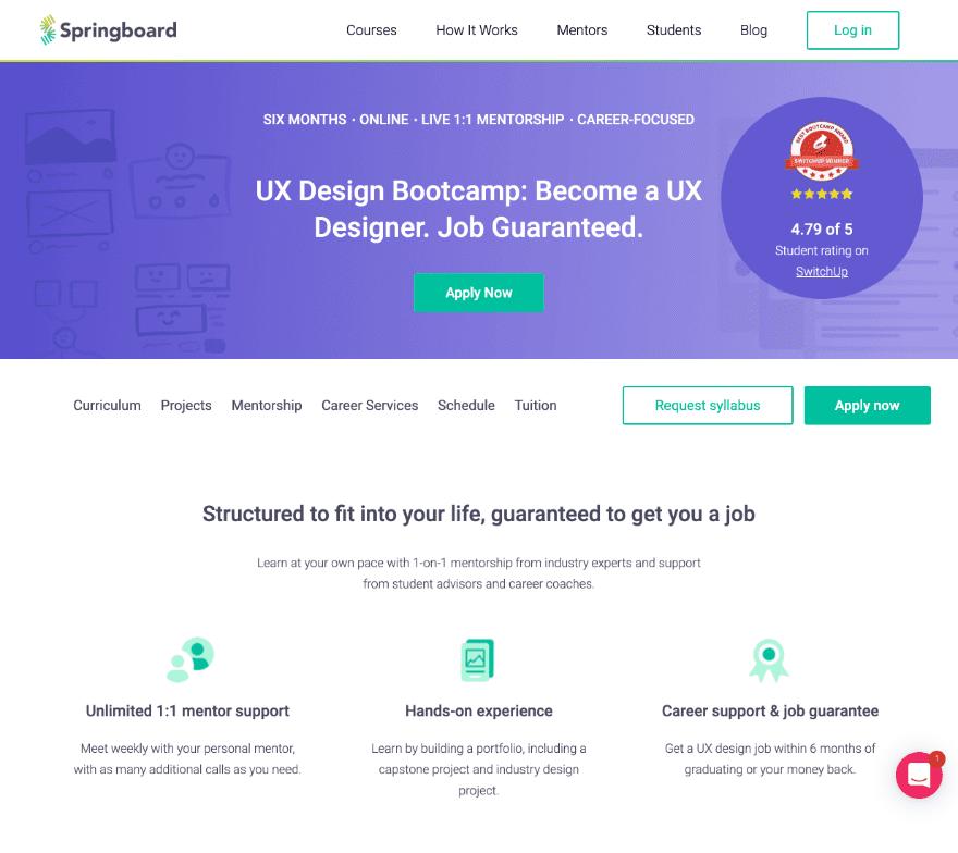 Cours de conception UI / UX