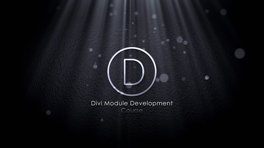 Divi Module Development With react.js