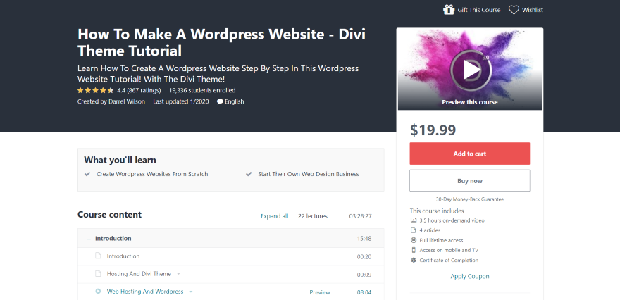 How To Make A WordPress Website - Divi Theme Tutorial