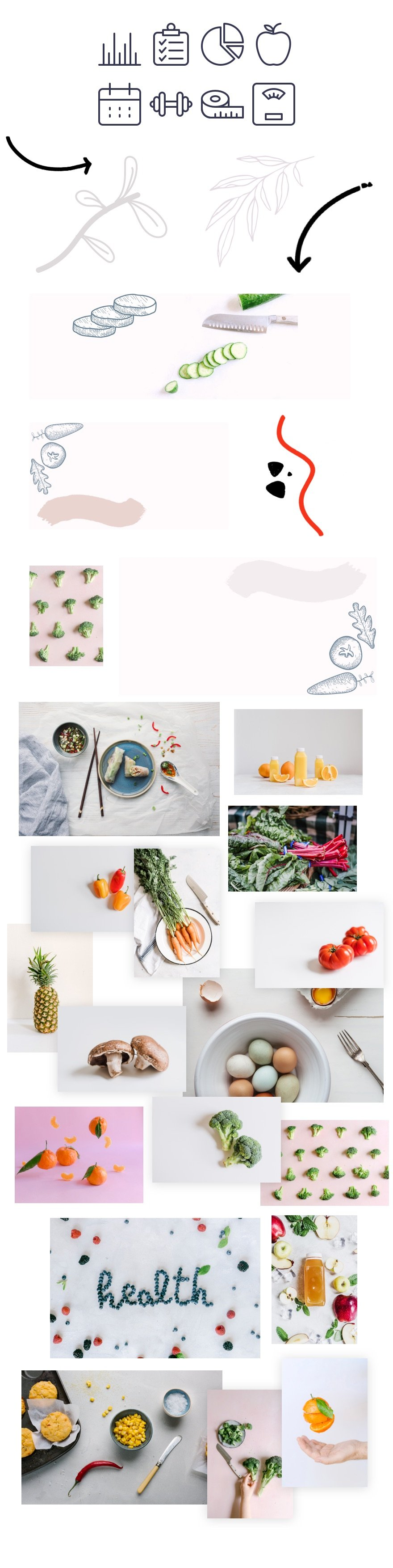 divi dietitian layout pack