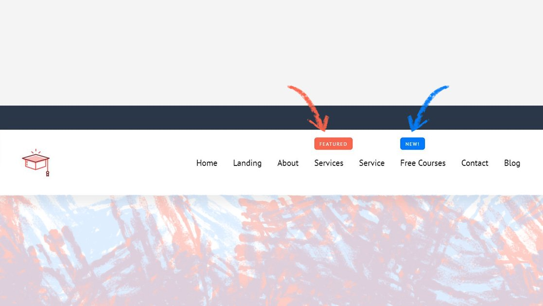 "How to Add a ""New"" or ""Featured"" Corner Label to a Menu Item in Your Custom Divi Header"
