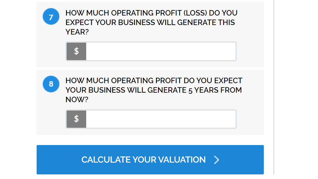 EquityNet's Startup Valuation Calculator.