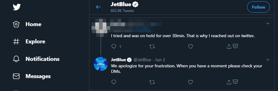 Creating negative feedback loops on Twitter.