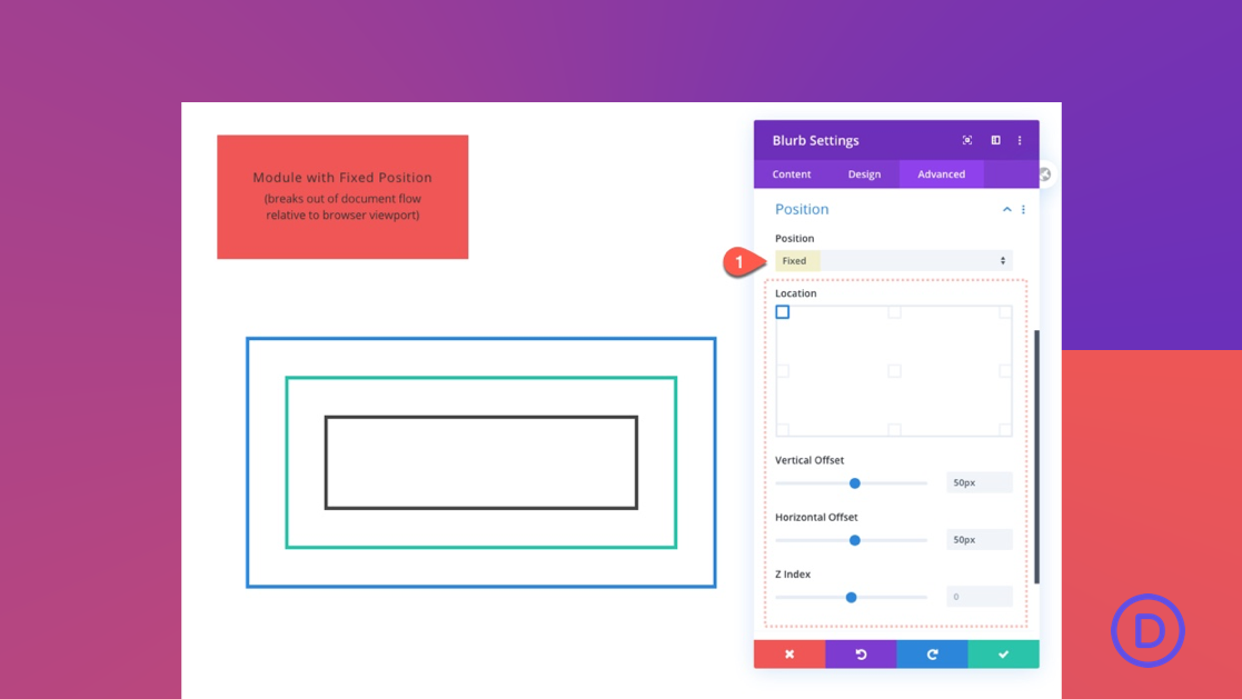 A Guide to Understanding & Using the Fixed Position in Divi