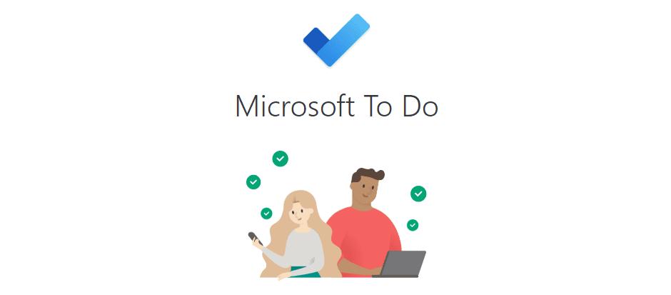 The Microsoft To Do app.