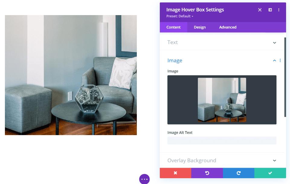 Image Hover Box