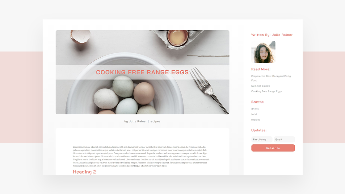 How to Include a Full-Height Fixed Sidebar in Your Blog Post Template