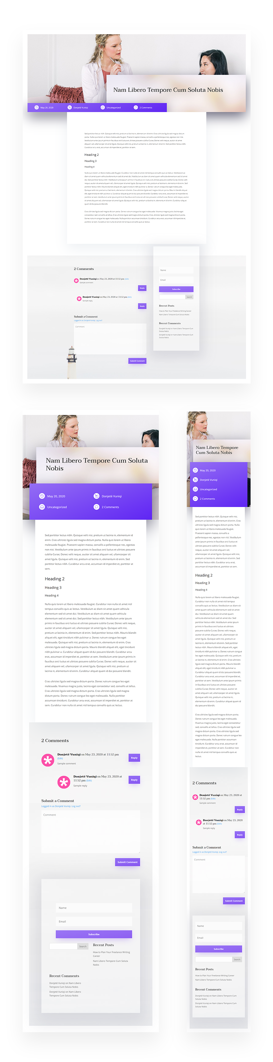 psychologist blog post template