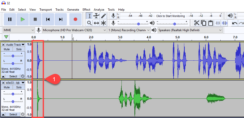 how to edit a podcast track sync