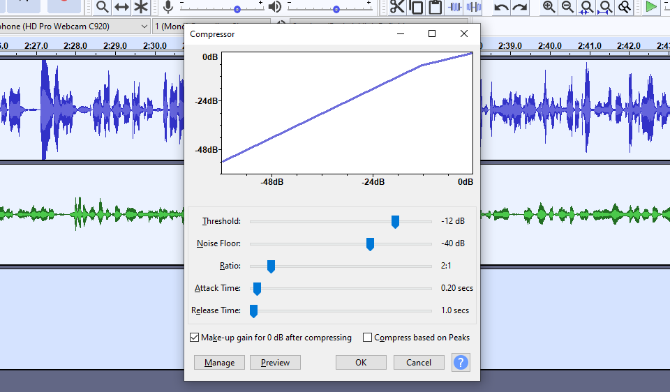 how to edit a podcast with a compressor tool