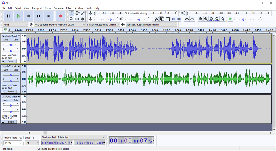 how to edit a podcast with audacity