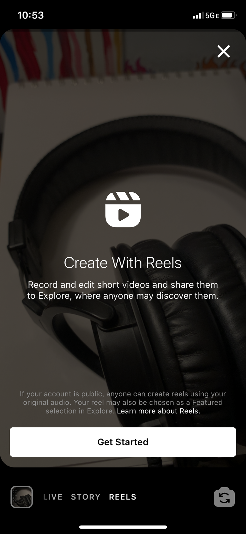 Get Started With Reels