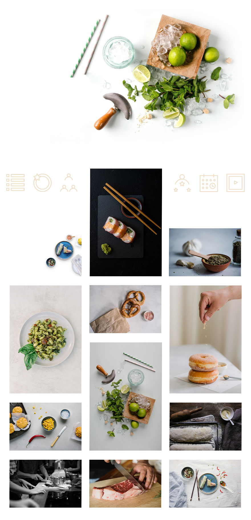 cooking school layout pack