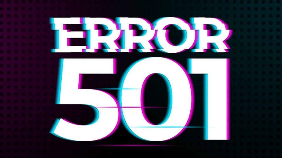 matt's youtube thumbnail for http error code 501
