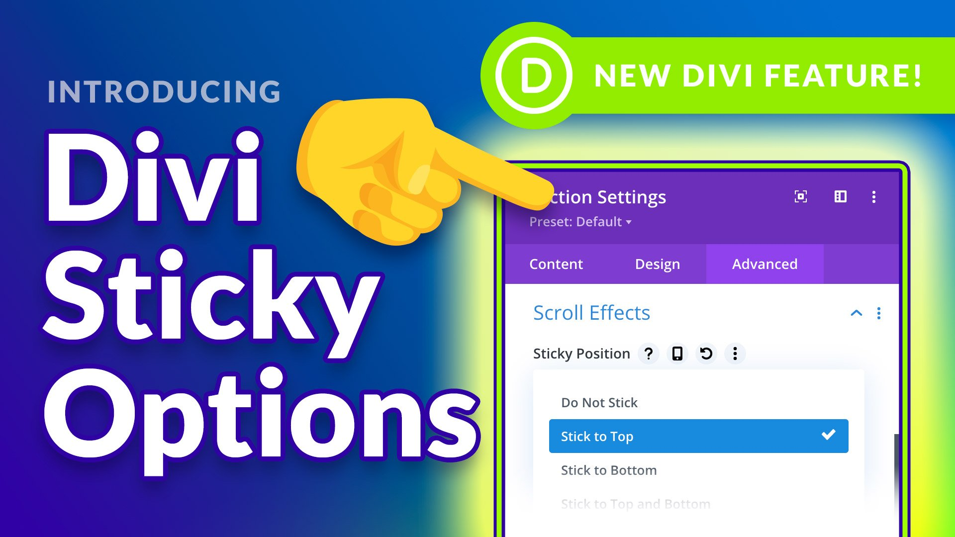 Create Sticky Headers, Dynamic Floating Elements And More!