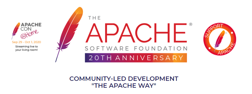 The Apache homepage.