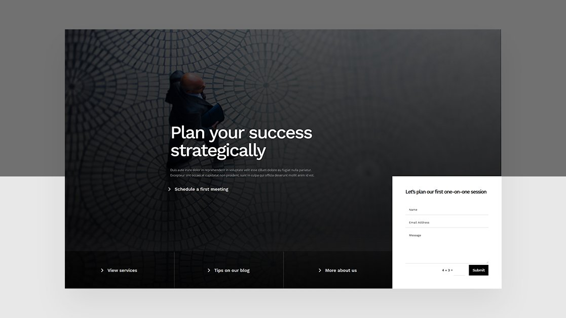 How to Add an Absolute-Positioned Bottom Bar to Your Hero Section with Divi