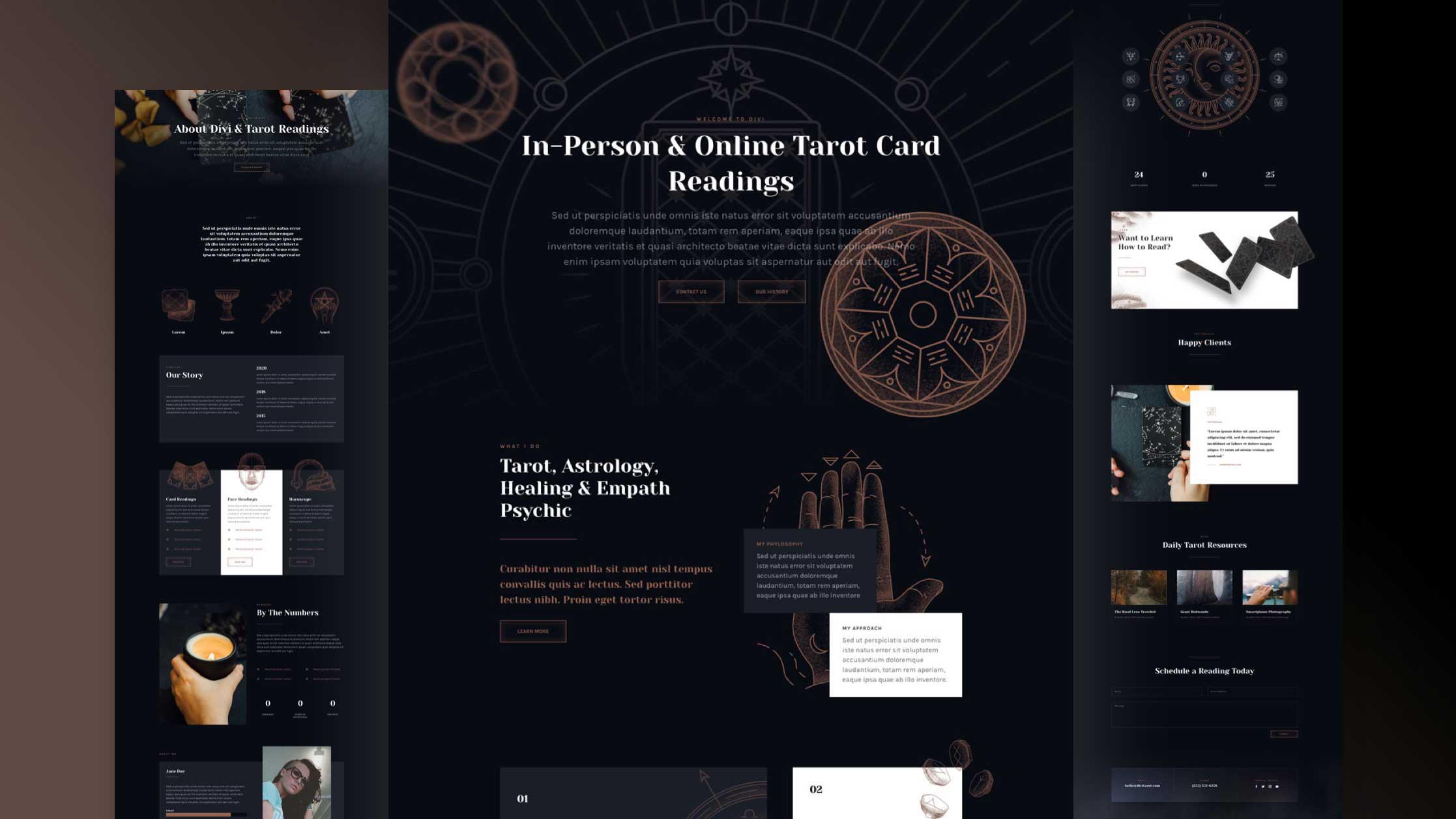 Get a FREE Tarot Layout Pack for Divi