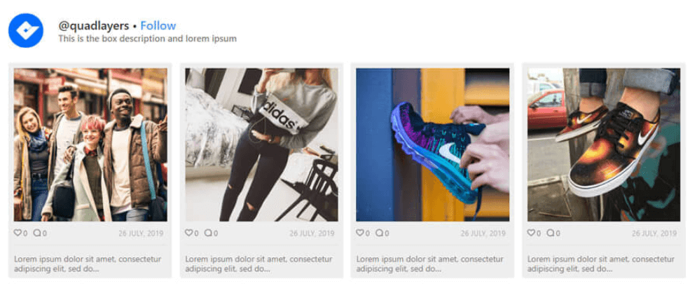Instagram Plugin, Instagram Feed in WordPress