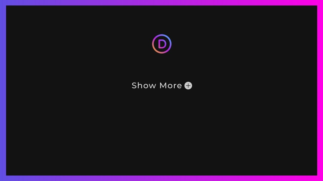 2 Ways to Create Custom Show More Toggles in Divi