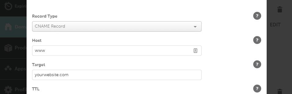 Apuntando una URL www hacia una URL canónica.