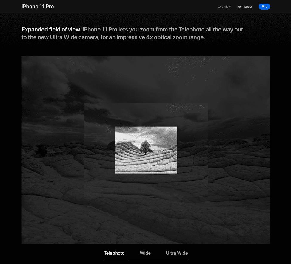 Apple minimalistic UX